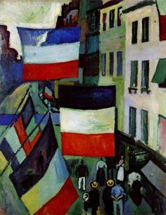1906. Raoul Dufy: le 14 juillet au Havre