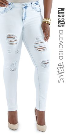 Rainbow Shops Plus Size Distressed Whisker Wash Boyfriend Jeans