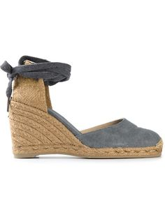 CASTAÑER Wedge Espadrille Sandals. #castañer #shoes #sandals