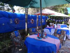 Nautical Baby Shower. I Made This Decor For My Sisteru0027s. I Used A Roll Of  Blue Plastic Tablecloth From A Party Store In Two Rows.