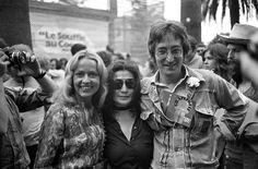 Jeanne Moreau, John & Yoko