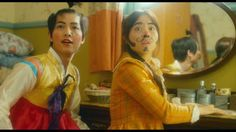 This scene was funny. These two dorks. - A Werewolf Boy