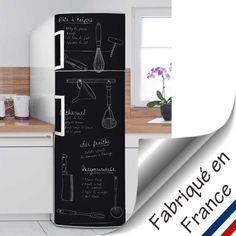 1000 id es sur le th me sticker frigo sur pinterest - Recouvrir meuble cuisine adhesif ...