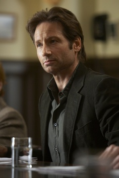 If you missed me this much, you could have called or sexted. -Hank, #Californication #showtime #davidduchovny