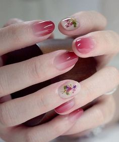 Beautiful Red Omber Nail Art Ideas 201 – 2018