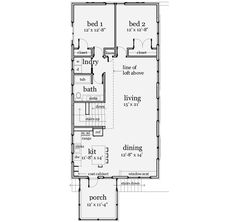 Free floor plans for small houses house plans small for House plans with separate office entrance