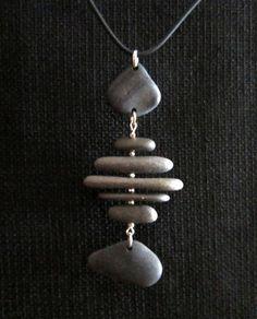 Lake Superior Stone Necklace by LakeSuperiorDrifting on Etsy, $45.00