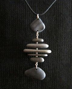 Lake Superior Stone Necklace by LakeSuperiorDrifting on Etsy, $45.00