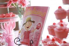 This party is too cute!  We L.O.V.E. this book at home and I think Charlotte would adore this party for her birthday.