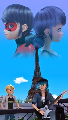 Discover recipes, home ideas, style inspiration and other ideas to try. Ladybug Y Cat Noir, Meraculous Ladybug, Ladybug Comics, Marinette Anime, Marinette Et Adrien, Lady Bug, Miraculous Ladybug Movie, Mlb, Adrien Miraculous