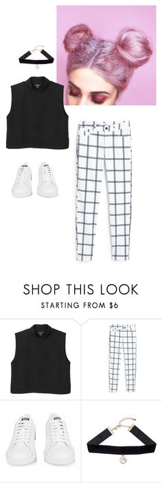 """Untitled #295"" by dariapark ❤ liked on Polyvore featuring moda, Monki, MANGO, adidas y H&M"