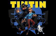 Tintin by jonpinto