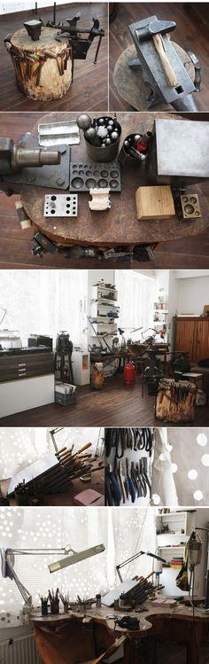 Friedrich Gobbesso --   Artist, Apartment, Wedding, Berlin