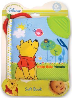 Amazon.com : Disney Baby: Winnie the Pooh Hello Little Friends Soft Book by Kids Preferred : Baby Toys : Baby