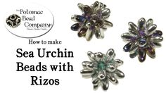 How to Make Sea Urchin Beads with Rizo Beads (Part 1) #Seed #Bead #Tutorials