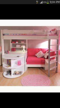 Cute bunk bed