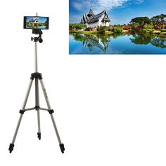 Aluminium Camera Stand Tripod Holder+Bluetooth Remote Control For Huawei P9/Lite/Plus P8