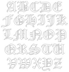 Old English Old Style font