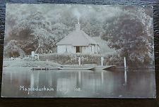 MAPLEDURHAM FERRY READING 1910 PHOTO POSTCARD