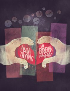 """Poster for Wilco's """"I Am Trying To Break Your Heart"""""""