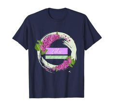 Amazon.com: Lilac flowers in a circle. Lilac dreams. t-shirt: Clothing