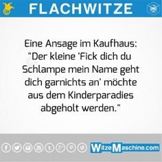 """Flachwitze - Kinderparadies: """"Fick dich du Schlampe...!"""""""