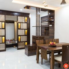 modern room divider ideas home partition wall designs for living room bedroom 2019 Room Partition Wall, Living Room Partition Design, Living Room Divider, Room Partition Designs, Pooja Room Door Design, Living Room Sofa Design, Living Room Designs, Wall Design, Wood Partition