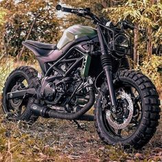 Love the all-terrain military look of this built by eakkspeed for Suzuki Thailand Now in our latest Bikes Of The Week Hit the link in our bio or visit Moto Scrambler, Moto Bike, Motorcycle Bike, Motorcycle Quotes, Retro Bikes, Bobber Custom, Custom Bikes, Custom Choppers, Custom Vans