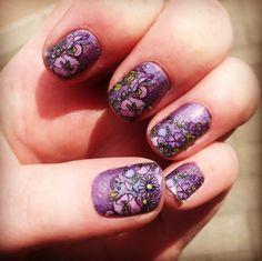 Dancing Lilacs over Pixie. SHOP HERE: https://jamberrybee.jamberry.com/au/en  Photo Credit: Instagram @ lindbrad