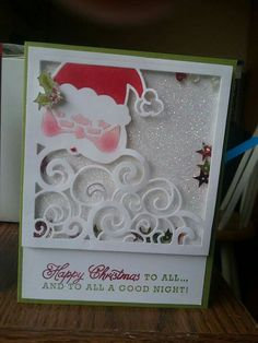 Stampin ' Up Detailed Santa thinlit