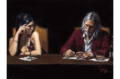 Fabian & Monica painting | Fabian Perez Art