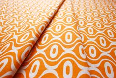 Riley Blake Hipster Rain Drop Orange C519-03