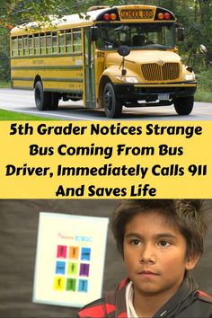 Heroes come in all shapes and sizes. In this unbelievable story – the hero happens to be a fifth-grader from Crows Landing, California. Bus Driver, Save Life, Elementary Schools, Happy Relationships, Cute Tshirts, Couple Goals, Crows, Landing, Hero