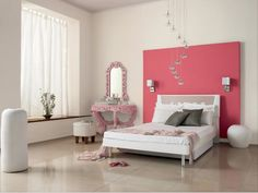 Set the mood: Paint your house in romantic colours Estilo Kitsch, Pink Accent Walls, Youth Rooms, Paint Your House, Cosy Bedroom, Bedroom Wall Colors, Design Bedroom, Bedroom Styles, Dream Rooms