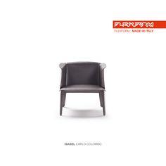 #FLEXFORM ISABEL armchair #design Carlo Colombo