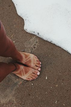 Soft sand and Chaco tans