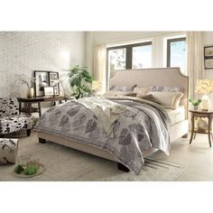 Found it at Joss & Main - Sidney Upholstered Bed