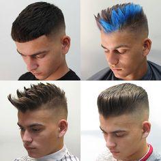 "Páči sa mi to: 264, komentáre: 1 – @silvapeluquero na Instagrame: ""Buenas tardes😆...... Cual es tu estilo?...... Modelo:@ismaelrodrigez_  Hair cut and color by…"""