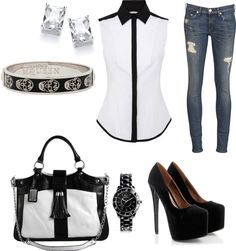 """""""date night"""" by kaycushman ❤ liked on Polyvore"""