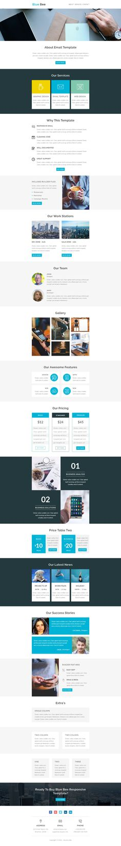 Valentine  Responsive Email Template With Stamp Ready Builder