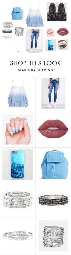 """casual day out if needed"" by moriartylauren on Polyvore featuring Ksubi, Lime Crime, Vera Bradley, Sole Society, Chico's, Stephen Webster, Avenue and Links of London"