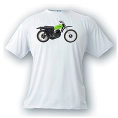 Kawasaki F11M 1973 vintage image motorcycle t-shirt by artonstuffdesigns on Etsy