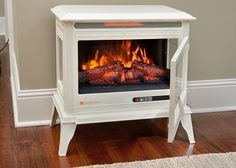 Dimplex Chelsea Corner Electric Fireplace White