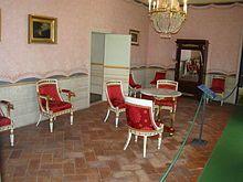 Salone dell'imperatore a Villa dei Mulini