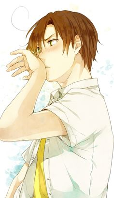 Find images and videos about anime boy, hetalia and aph on We Heart It - the app to get lost in what you love. Romano Hetalia, Latin Hetalia, Hot Anime Guys, All Anime, Anime Boys, Aph Italy, Spamano, Usuk, Hetalia Fanart