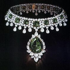 Harry Winston, #masterpiece #emerald #necklace