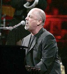 Billy Joel-saw him and Elton John in concert-priceless!! Billy is such a great entertainer!!