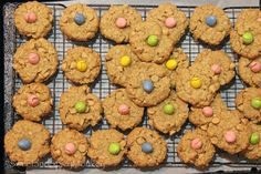 These Flourless Reeses Peanut Butter Easter Egg Cookies are chock full of peanut butter chips & topped with a Reeses peanut butter Easter Egg candy.