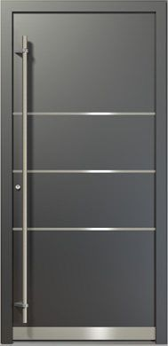 M s de 1000 ideas sobre puertas de aluminio modernas en - Modelos de puertas de aluminio para exterior ...