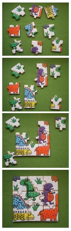 Dino Cookie Puzzle